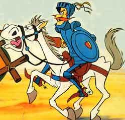 Don Quijote y sus zapatetas